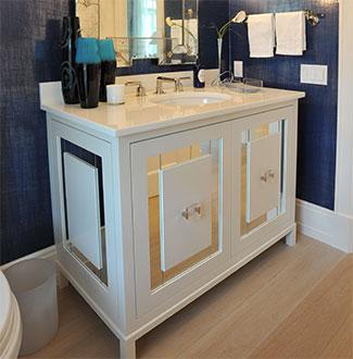 Complete home custom bathroom design